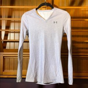 Under Armour Gray Long Sleeve Top